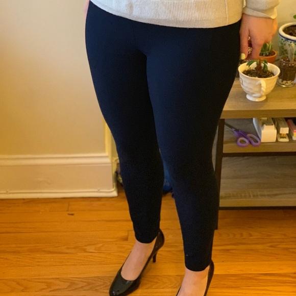 395b727d26377 Banana Republic Pants - Banana Republic blue sleek legging-fit ankle pant